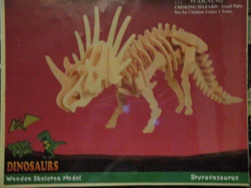 Styracosaurus Wooden Skeleton Model