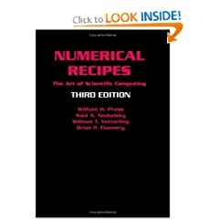 Numerical Recipes 3rd Edition: The Art of Scientific Computing