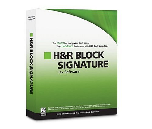 H&R Block Signature 2004