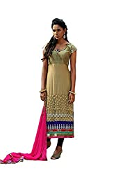 Kamakshi Womens Cotton Self Print Straight Salwar Suit (Madhu_L)