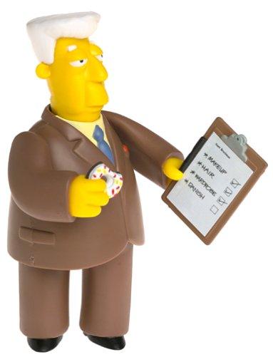 The Simpsons Series 5 Action Figure Kent Brockman