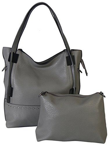 rimen-co-bag-in-bag-top-handle-large-capacity-tote-handbag-wy-2668-gray