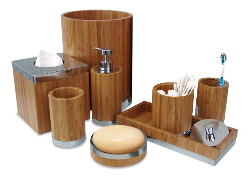 Nu Steel Ageless Collection Bathroom Accessories Set ,8-Piece