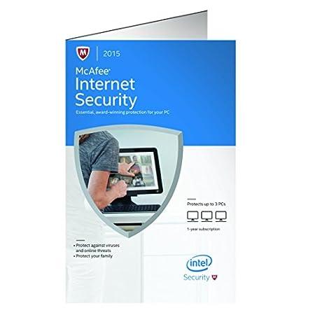 McAfee Internet Security 2015  - 3 PCs