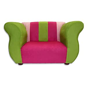 Fantasy Furniture Fancy Chair, Pink/Green from Fantasy Furniture