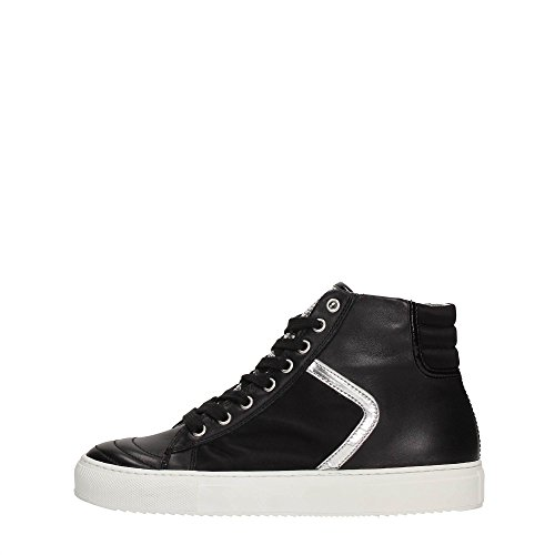 Cult CLE101835 Sneakers Donna Pelle Nero Nero 38