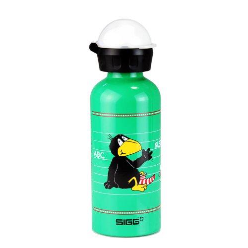 Sigg 123 Kleiner Rabe Socke Water Bottle (Green, 0.4-Litre) front-302303
