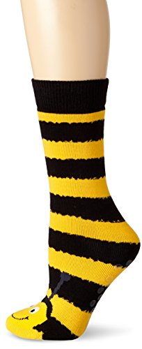 K. Bell Socks Women's Bee Tube Non-Kid Slipper Socks
