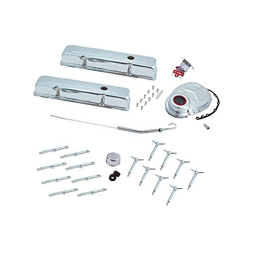 Spectre Performance 5403 Chrome Short Deluxe Dress Up Kit For Small Block Chevy