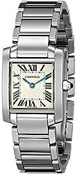 Cartier Women's W51008Q3 Tank Francaise Stainless Steel Bracelet Watch