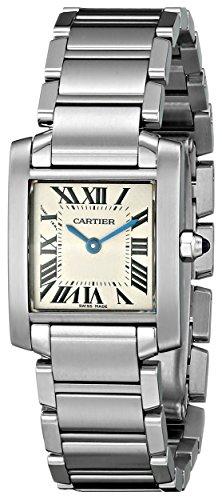 Cartier Women's W51008Q3 Tank Francaise Stainless Steel Watch