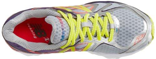 888098226782 - New Balance Women's W1080 Cushion Running Shoe,Silver/Purple,12 D US carousel main 6
