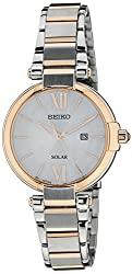 Seiko Dress Analog White Dial Womens Watch - SUT156P1