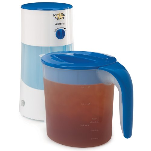 Check Out This Mr. Coffee TM70 3-Quart Iced Tea Maker, 3-Quart, Blue