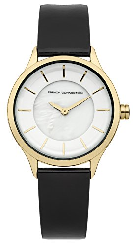 French Connection de mujer reloj de pulsera Abbey analógico de cuarzo piel fc1171bg