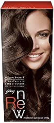 Godrej Renew Crme Hair Colour, Natural Brown