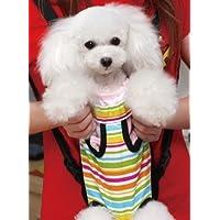 【かわいい ワンちゃん を 前で 抱っこ】 柔らかい 犬 / ペット 用 リュック キャリー