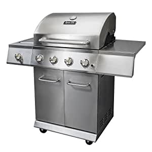 Dyna-Glo DGE Series Propane Grill, 4 Burner,