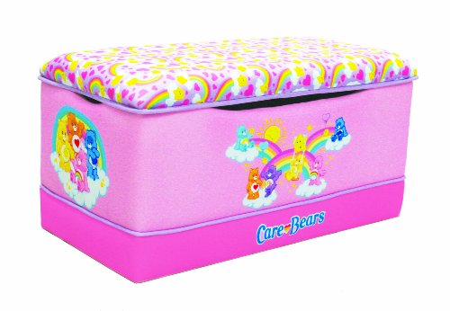 Imagen de American Greetings Deluxe Toy Box, Care Bears Rainbows