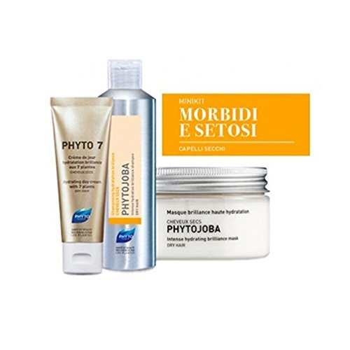 Phyto Minikit Capelli Secchi Shampoo 50 ml+ Maschera 50 ml+ Crema 30 ml