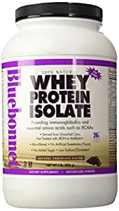 Bluebonnet 100 whey protein isolate