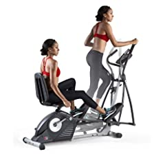 ProForm Hybrid Elliptical Recumbent Bike Trainer - Manufacturer Rebuilt by ProForm