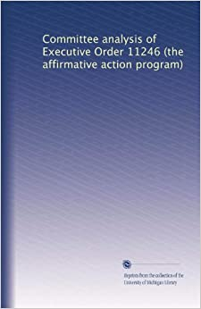 critique of affirmative action ada Paper critique of ada and affirmative action the case against affirmative action - sacramento state free action plan ada and affirmative action critique essay papers, essays, and research papers.