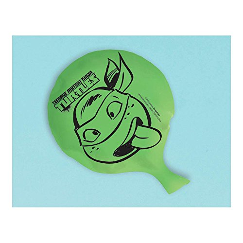 "Amscan Awesome TMNT Whoopee Cushion,7 x 6"", Green - 1"