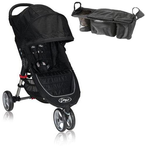 Baby Jogger Bj11210 City Mini Single With Parent Console - Black Gray front-1051795