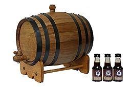 3-Liter American White Oak Barrel Bourbon Kit
