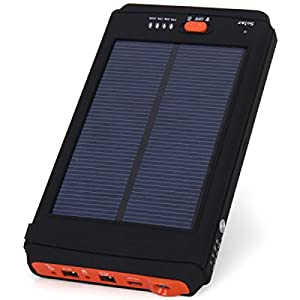 Solar Charger 11200mAh External Backup Battery Mobile Power Bank with Storage Bag for Tablet PC Laptop iPhone 4 4S 5 5S 5C Samsung S4 i9500 i9505 Samsung Galaxy S5 i9600 Note 2 Note3 Nokia Sony HTC et