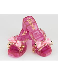 Child Barbie Deluxe Shoes Costume Accessory