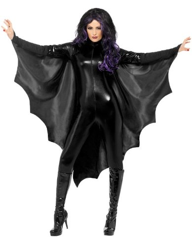 Smiffy's Vampire Bat Wings, Black, One Size - 1