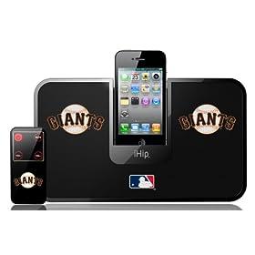 (超酷)MLB San Francisco IDock iphone便携式音响底座 可远控 职棒巨人队 $25.19