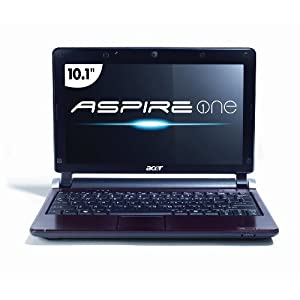 Acer AOD250-1325 10.1-Inch Ruby Red Netbook - Over 3 Hours of Battery Life (Windows 7 Starter)
