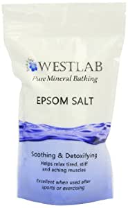 Westlab Epsom Salt Resealable Stand Up Pouch 1Kg