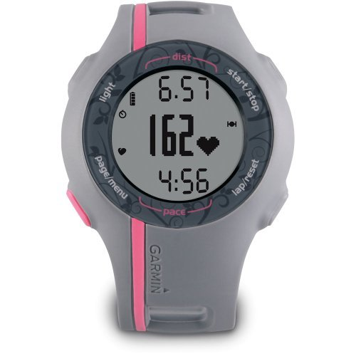 Garmin Forerunner 110 GPS-Enabled Sport Watch with Heart Rate Monitor (Pink)
