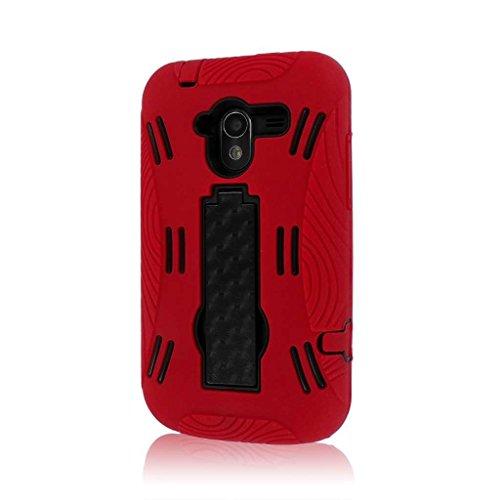 Empire Mpero Impact XL - Cover con supporto per ZTE Avid 4G N9120, colore: rosso