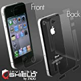 ZAGG invisibleSHIELD for iPhone4 Full Body Maximum Coverage ケース (側面と裏面を含む全面保護シート)