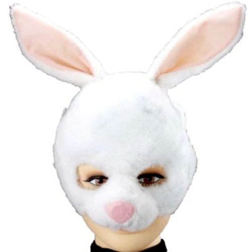 Forum Novelties Animal Soundz Bunny Rabbit Half Mask
