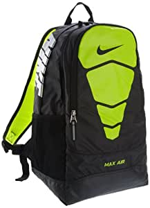 The Nike Team Training Vapor Max Air Backpack Black/Black/Metallic Silver Size One Size