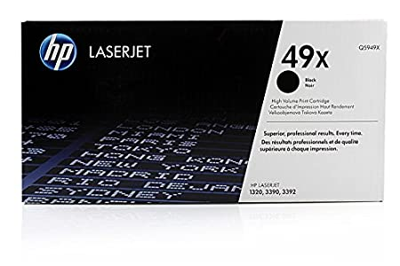 Canon Lasershot LBP-3300 - Original HP Q5949X / 49X - Cartouche de Toner Noir - 6000 pages