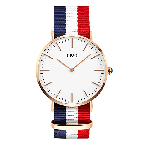 civo-mens-womens-premium-ballistic-nylon-band-quartz-analogue-wrist-watch-mens-womens-business-casua
