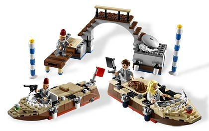 LEGO Indiana Jones Venice Canal Chase (7197) Amazon.com