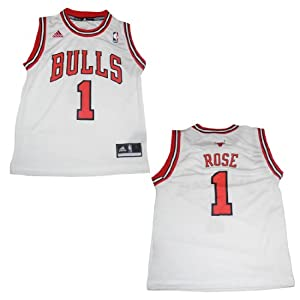 NBA CHICAGO BULLS ROSE #1 Youth Pro Quality Athletic Jersey Top by NBA