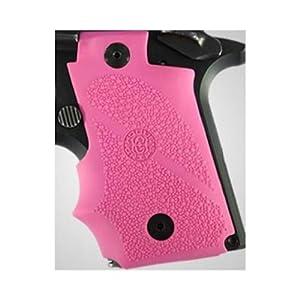 Amazon.com : Hogue Sig P238 Grips Rubber w/Finger Grooves, Desert Pink