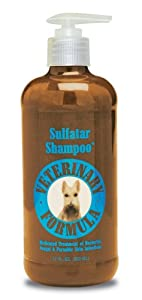 Synergy Veterinary Formula Sulfatar Medicated Shampoo, 17.5 Ounce