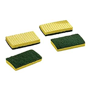 ZIBO Cellulose Sponge Scourers Ideal for Kitchen Cleaning