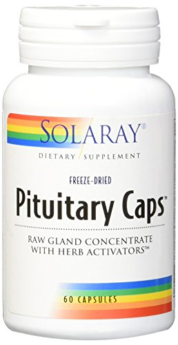 Solaray Pituitary Caps Supplement, 196 mg, 60 Count (Pituitary Caps compare prices)