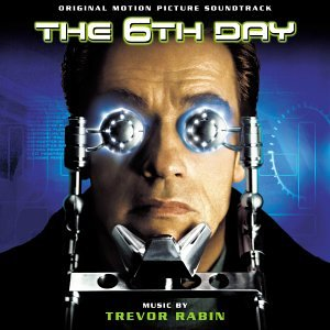 Original album cover of The 6th Day by Trevor Rabin